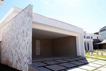 Exemplos de pisos para garagem e calçada