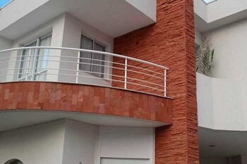 Exemplos de revestimento para fachadas