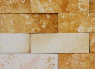 Mosaico Arenito Amarelo 5x15 cm